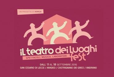 Teatro dei Luoghi Fest 2016