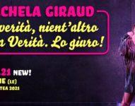 Michela Giraud in La verità, nient'altro che la verità. Lo giuro!